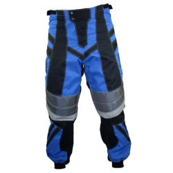 Pantalon BMX enfant bleu