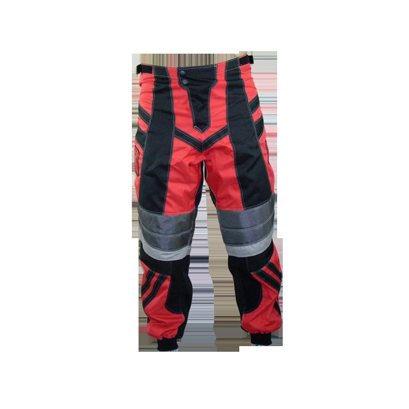 Pantalon BMX enfant rouge