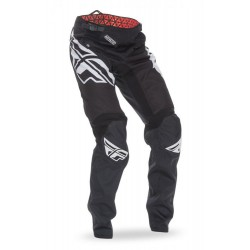 PANTALON FLY KINETIC BMX NOIR/BLANC ENFANT