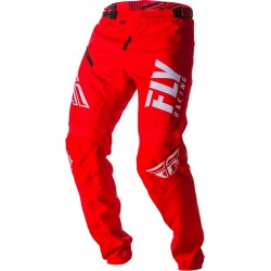 PANTALON FLY KINETIC BMX 2019 SHIELD ROUGE/BLANC