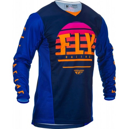 MAILLOT FLY KINETIC K220 2020 MIDNIGHT/BLEU/ORANGE
