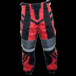 Pantalon cross BMX adulte rouge