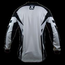 Maillot  BMX blanc