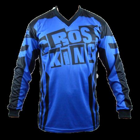Maillot Bleu de BMX