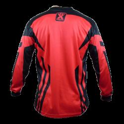 Maillot rouge de BMX