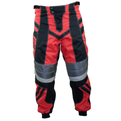 Pantalon cross BMX adulte rouge