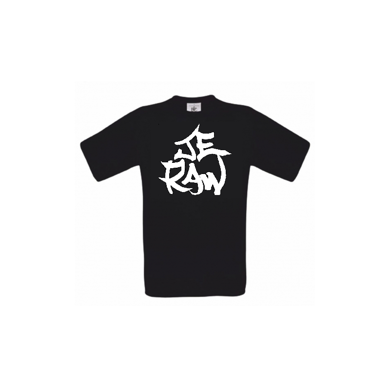 "Tee Shirt Cross BMX et VTT ""Je raw"""