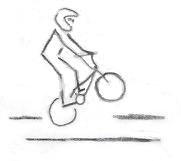 Position 4 cabrage BMX