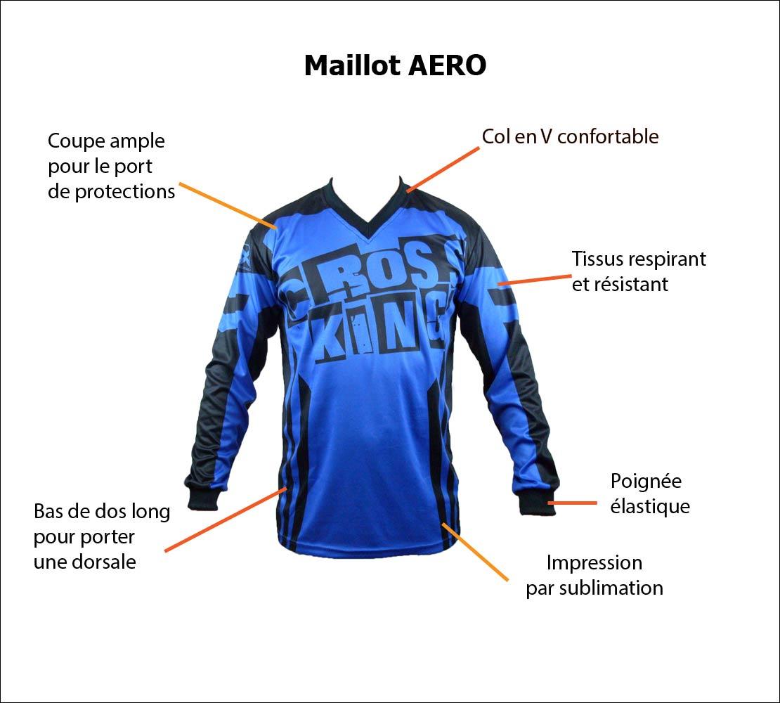 Maillot BMX Aero