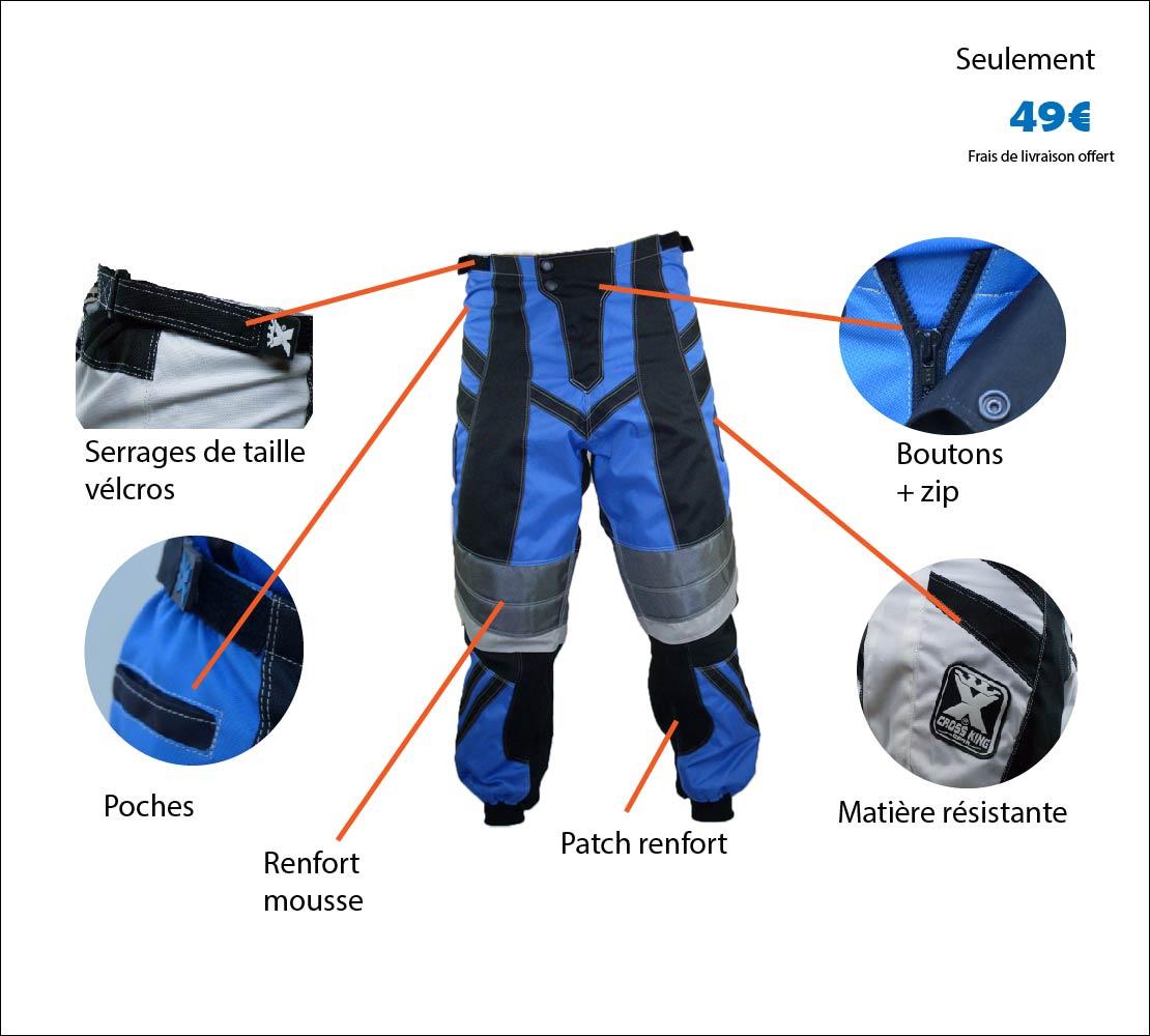 Pantalon BMX Aero