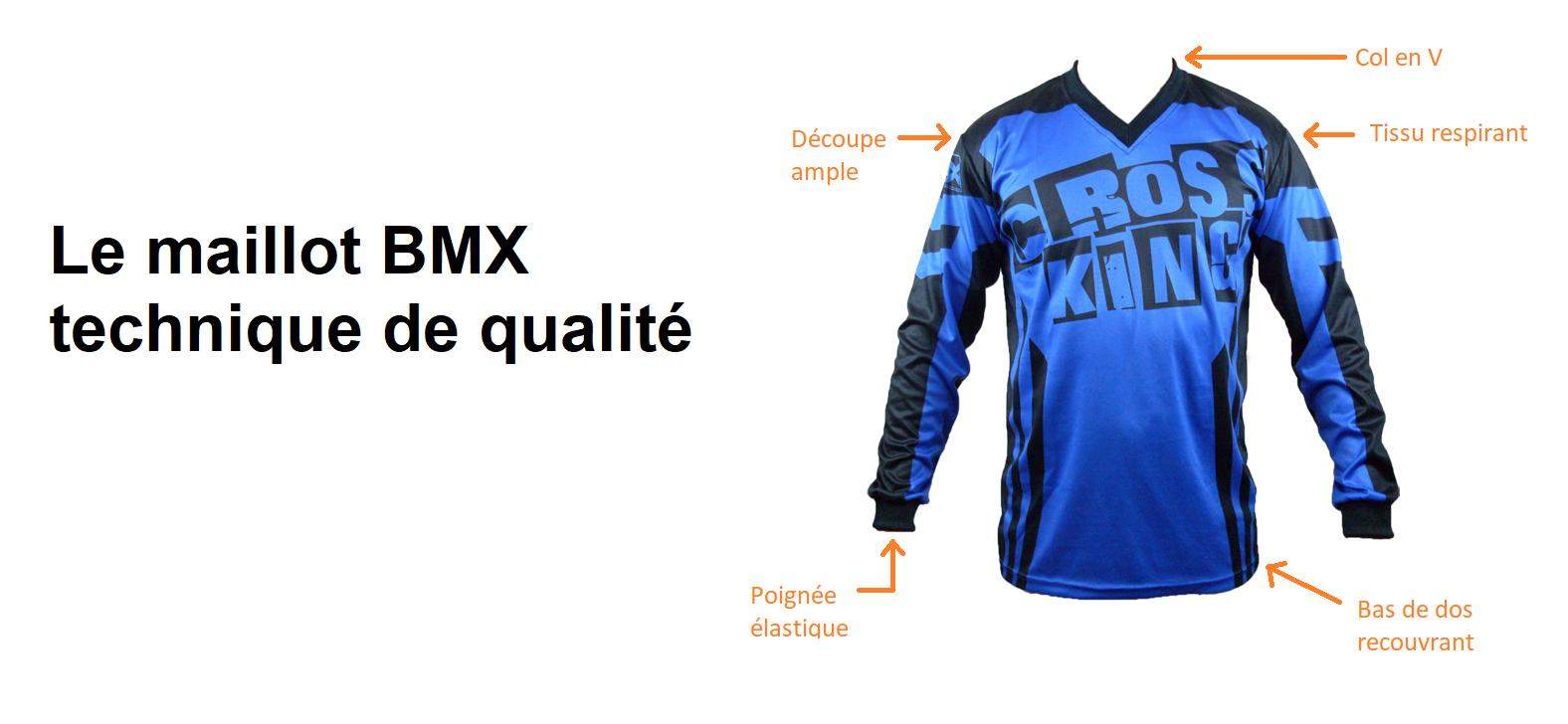 Maillot BMX