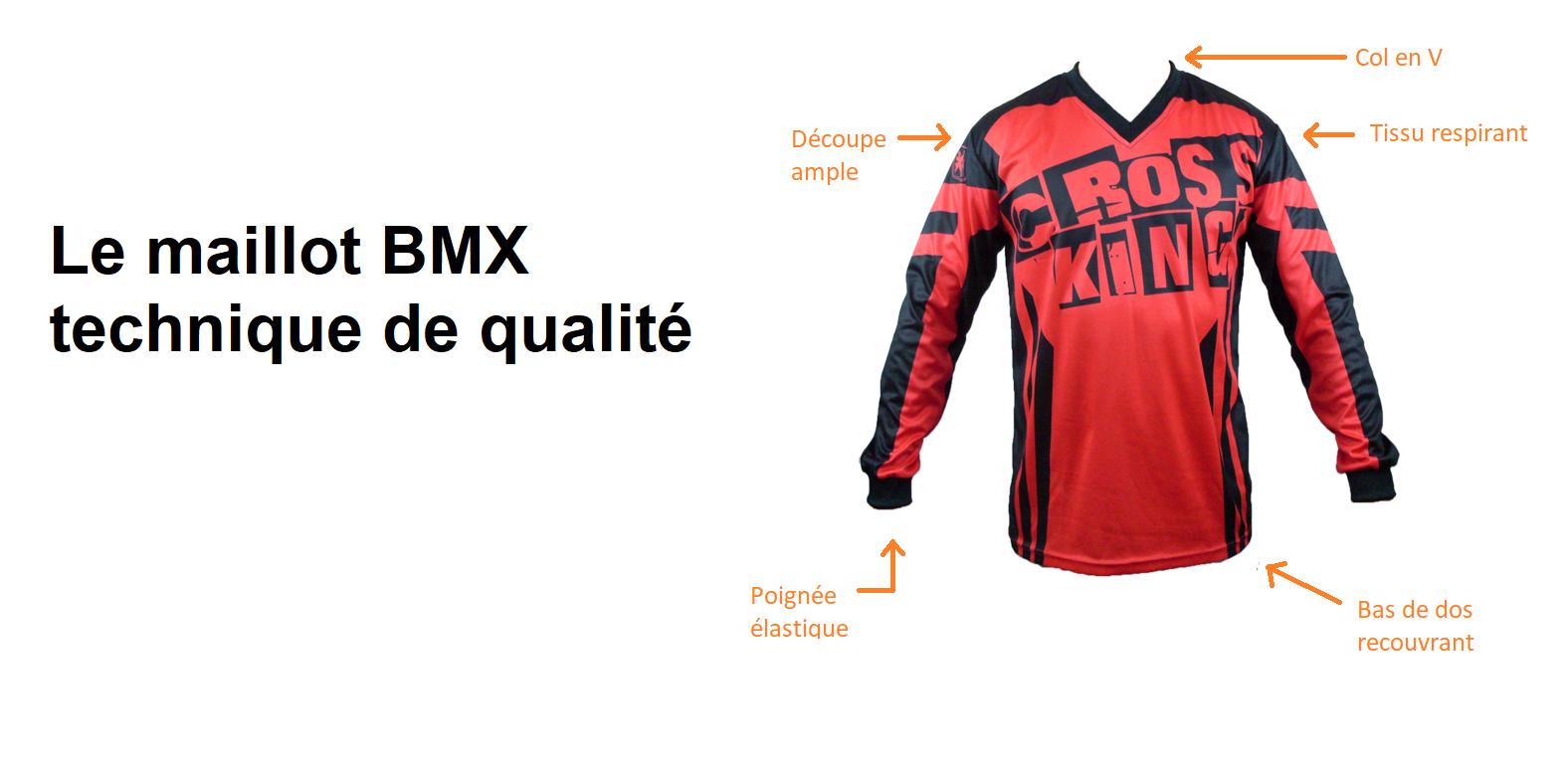 Maillot BMX enfant
